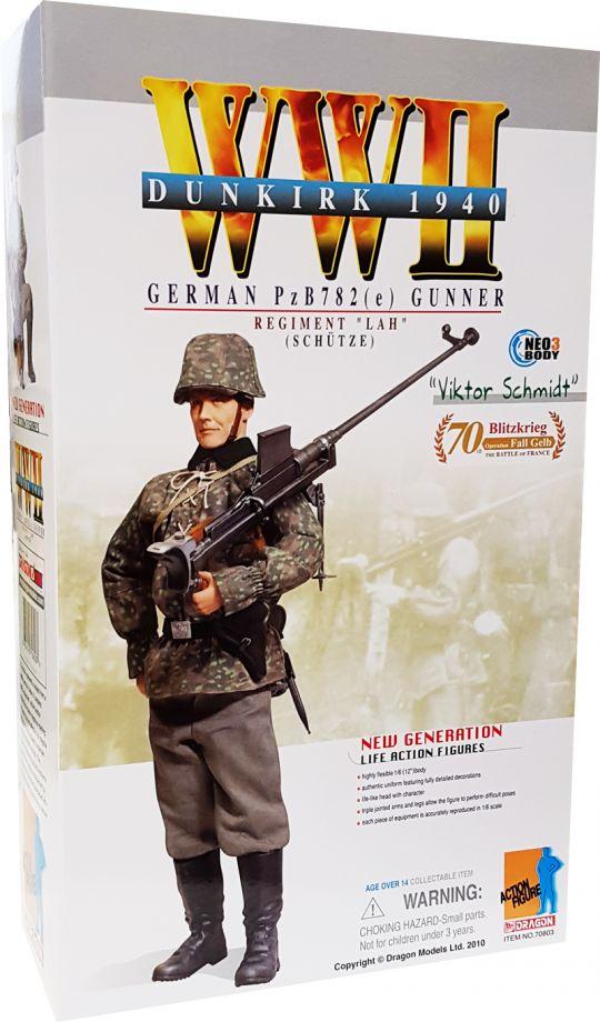 Dragon WWII German flare pistol n holster 1//6 toys Soldier GI Joe DID Dam 3R gun