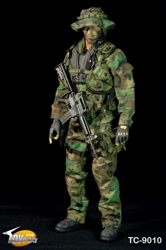 Toys city US Navy Seal Jungle ops Uniform 1//6 Dragon soldier Bbi dam GI joe BDU