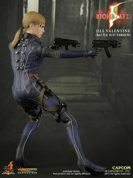Resident Evil 5 Jill Valentine Battle Suit Hot Toys