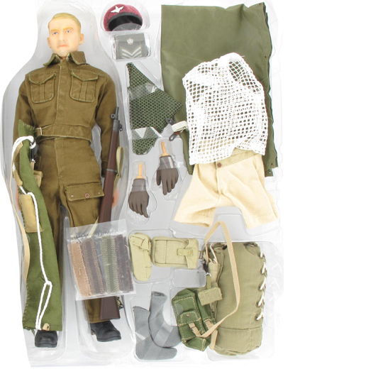 Dragon British para over smock 1//6th scale toy accessory Harry Collins