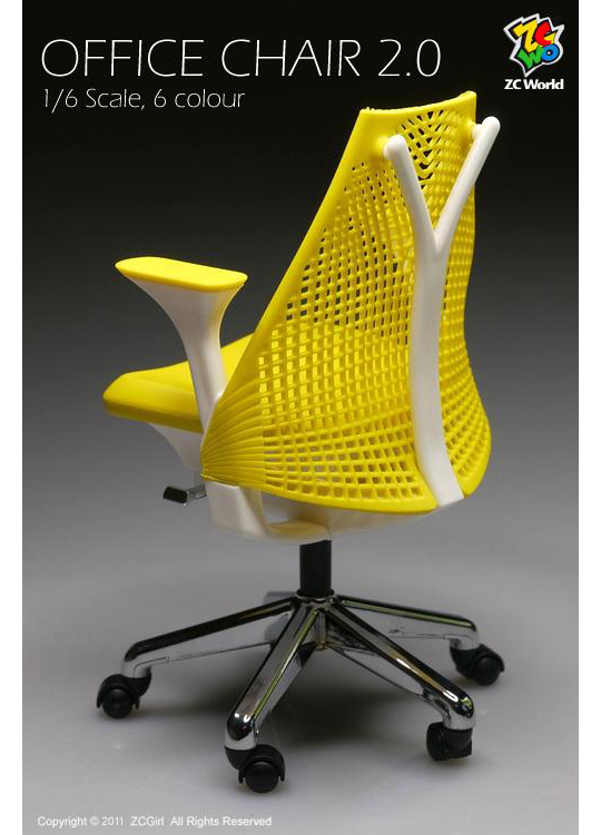 OFFICE CHAIR 2.0  for 12Inches 1/6 Scale Action Figure One ZC WORLD Pozostałe