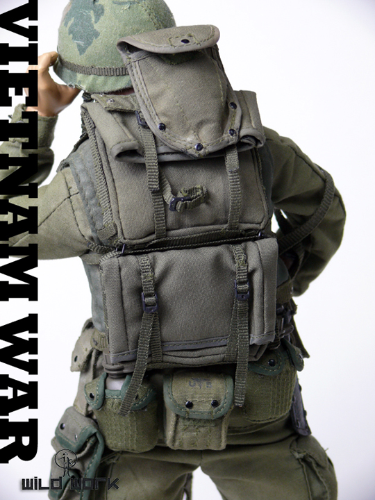 Vietnam War Uniform Set WILD WORK - Machinegun