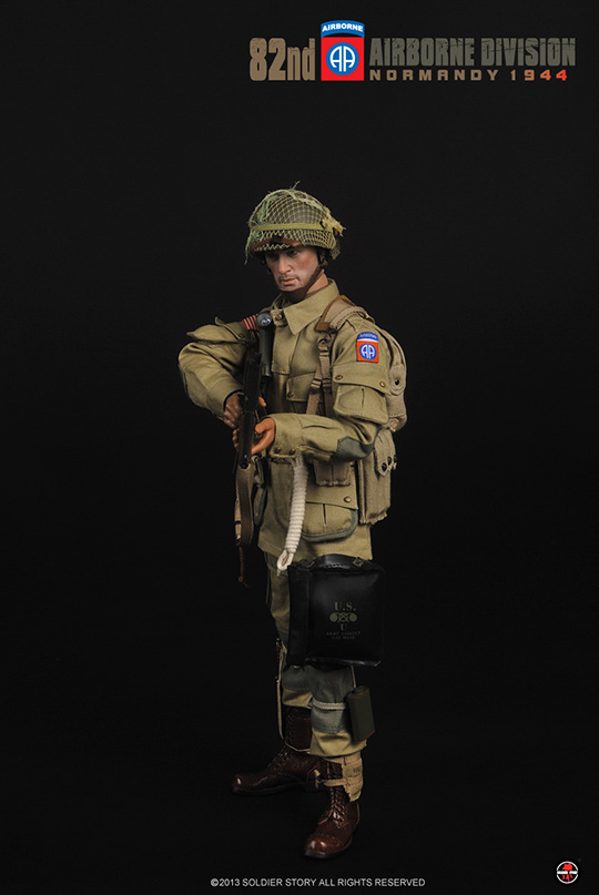 82nd Airborne Division Normandy 1944 SOLDIER STORY - Machinegun
