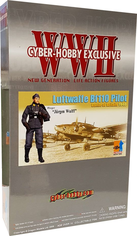 Cyber Hobby: Jurgen Wulff Dragon Figures Uniform Set w// Patches 1//6 Scale