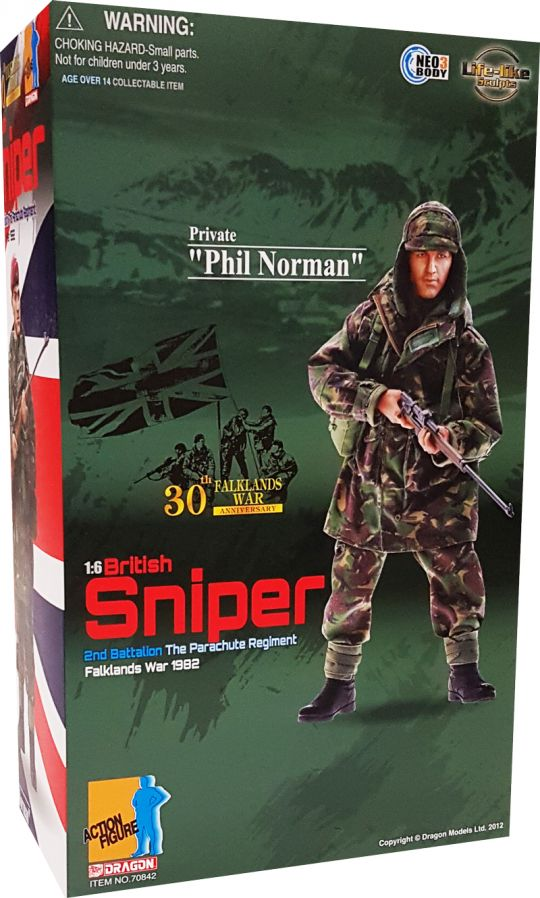 Dragon 1:6th Scale Modern British Sniper Smock /& Trousers from Phil Norman