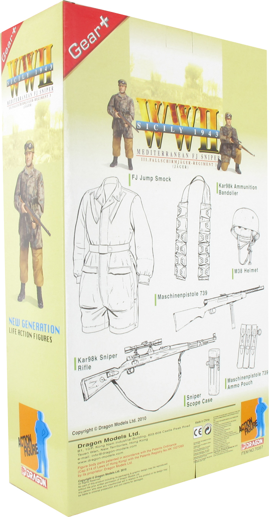 Eugen Brecht Machine Gun 1:6 Dragon Action Figures